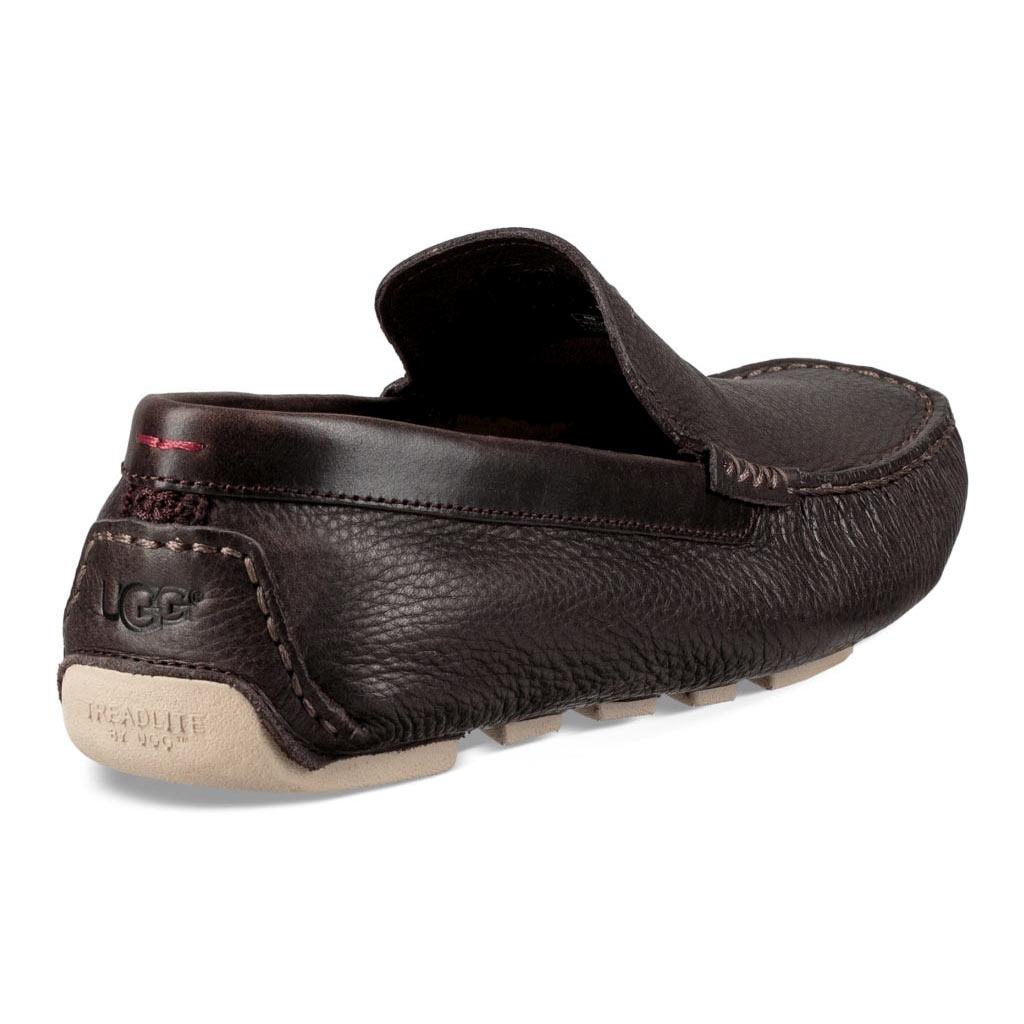 80af6bee940 Men's UGG Henrick Leather Driving Mock Shoe #1094355, Stout - Richard David  for Men