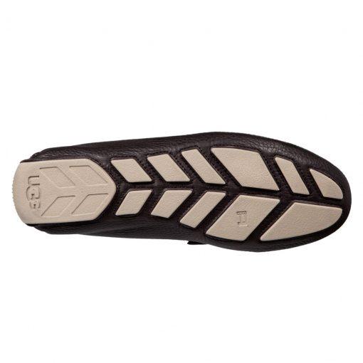 Men's UGG Henrick Leather Driving Mock Shoe #1094355, Stout