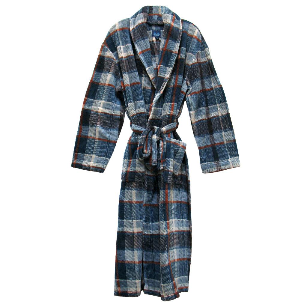 e0cf0fa7a3 Men s Majestic International Mountains Of Comfort Plush Fleece Shawl Collar  Robe