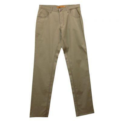 Men's ENZO Denim Collection Summer Weight Jeans, Alpha-132 Tan