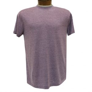 Men's R. Options by Basic Options Short Sleeve Washed Pigment Dye Crew Neck Tee, Wine (L, ONLY!)