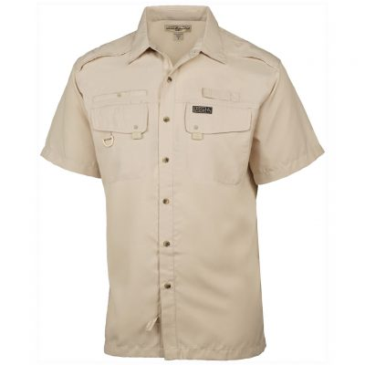 Men's Hook & Tackle, Short Sleeve Seacliff Performance Sun Protection Shirt #M01006S Sand