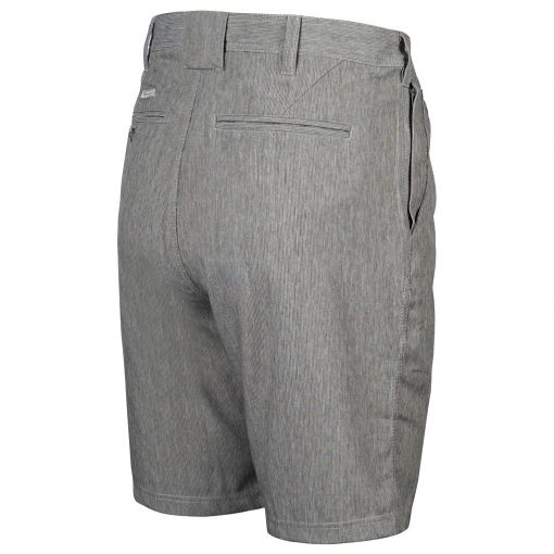 Men's Weekender Flat Front Travel 4-Way Stretch Short - Bora Cay, Grey