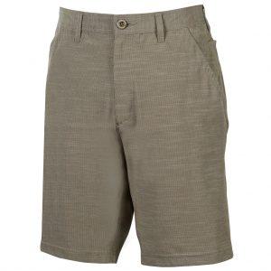 Men's Weekender Flat Front Travel 4-Way Stretch Short, Caicos, Khaki