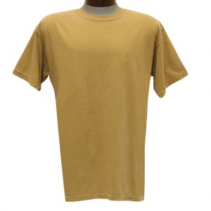 Men's R. Options by Basic Options Short Sleeve Pigment Dyed Tee, Old Mustard (M & XXL, ONLY!)