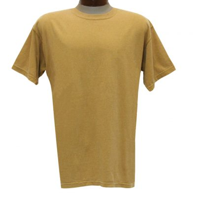 Men's R. Options by Basic Options Short Sleeve Pigment Dyed Tee, Mustard