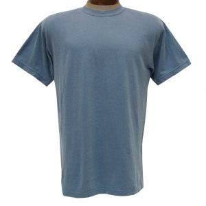 Men's R. Options by Basic Options Short Sleeve Pigment Dyed Tee, Blue Jean
