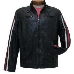 Men's Scully Premium Lamb Leather Riding Jacket #1030 Black (L & XXL, ONLY!)