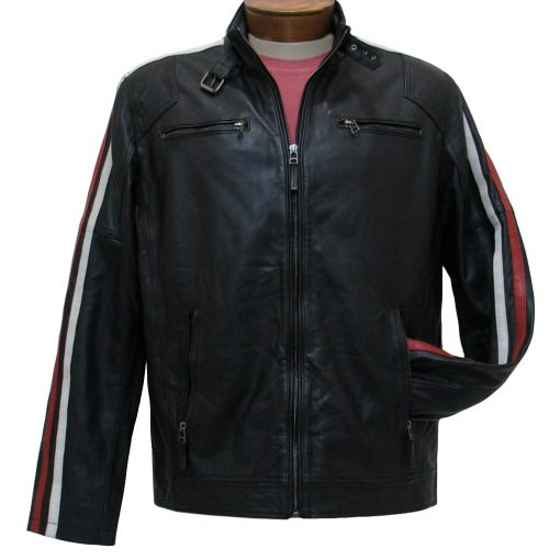 Men's Scully Premium Lamb Leather Riding Jacket #1030 Black