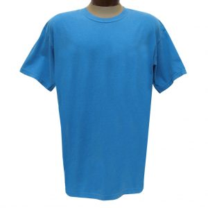 Men's R. Options by Basic Options Short Sleeve Pigment Dyed Tee, Roial Caribbean (NEW COLOR!)