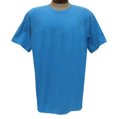 Men's R. Options by Basic Options Short Sleeve Pigment Dyed Tee, Roial Caribbean