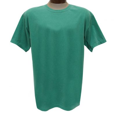 Men's R. Options by Basic Options Short Sleeve Pigment Dyed Tee, Green