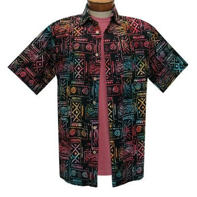 https://richarddavidformen.com/wp-content/uploads/2020/03/Mens-Basic-Options-Batik-Short-sleeve-Cotton-Shirt-Native-Totem-62053-1-Black-Multi