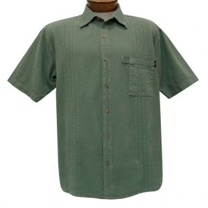 Men's Farthest Point By Scully Short Sleeve Traveler Casual Button Front Shirt #4800 Mos (XL & XXL, ONLY!)