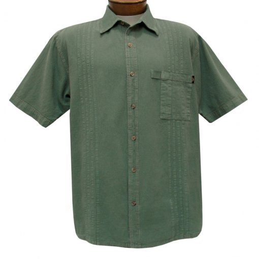Men's Farthest Point By Scully Short Sleeve Traveler Casual Button Front Shirt #4800 Mos