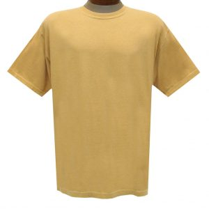 Men's R. Options by Basic Options Short Sleeve Pigment Dyed Tee, New Mustard (NEW COLOR!)