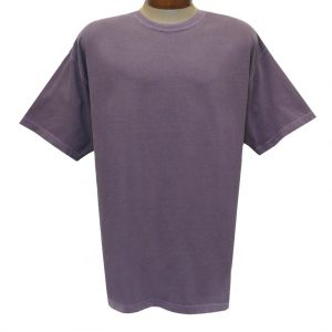 Men's R. Options by Basic Options Short Sleeve Pigment Dyed Tee, Wine (NEW COLOR!)