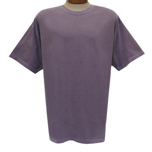 Men's R. Options by Basic Options Short Sleeve Pigment Dyed Tee, Wine