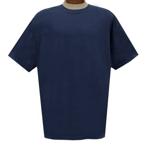 Men's R. Options by Basic Options Short Sleeve Pigment Dyed Tee #4900, Navy