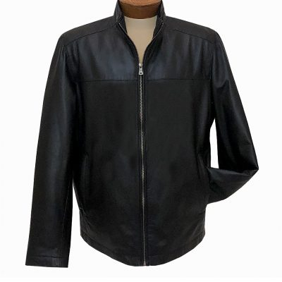 Men's Scully Increditably Soft Premium Lambskin Leather Jacket #1078-11 Black Special Purchase