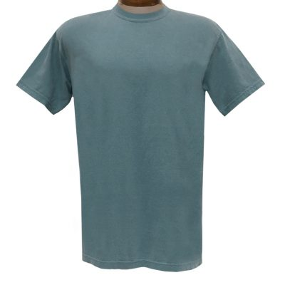 Men's R. Options by Basic Options Short Sleeve Pigment Dyed Tee #4900, Metal