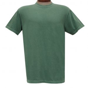 Men's R. Options by Basic Options Short Sleeve Pigment Dyed Tee #4900, Teal (NEW COLOR!)