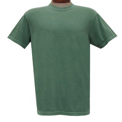 Men's R. Options by Basic Options Short Sleeve Pigment Dyed Tee #4900, Teal