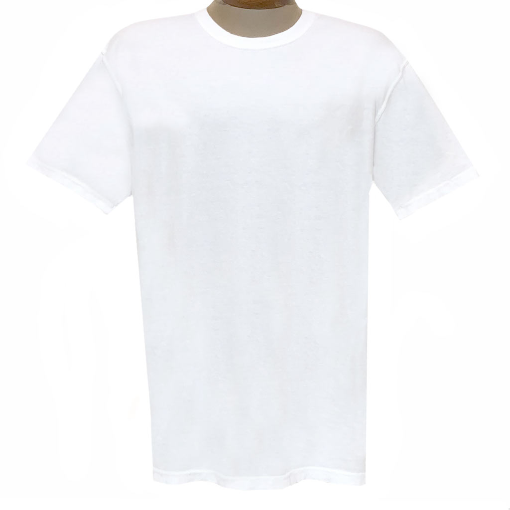 Men's R. Options by Basic Options Short Sleeve Pigment Dyed Tee #4900, White