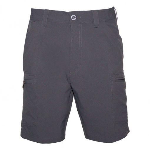 Men's Weekender Flat Front Travel Stretch Cargo Shorts, Traveler #M039434 Charcoal