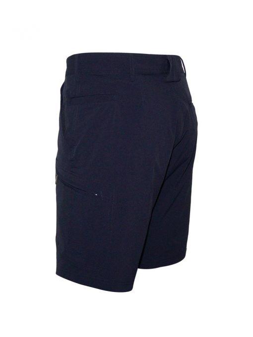 Men's Weekender Flat Front Travel Stretch Cargo Shorts, Traveler #M039434 Navy