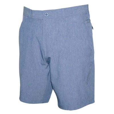 Men's Weekender Flat Front Travel Stretch Technology Shorts, Cape Coral #M039433 Blue