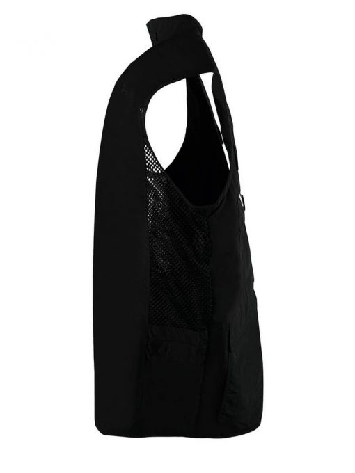 Men's Weekender Nylon Travel Vest, Odyssey #M020050 Black