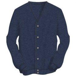 Men's Sweater The Original Links Cardigan 4000-denim-heather
