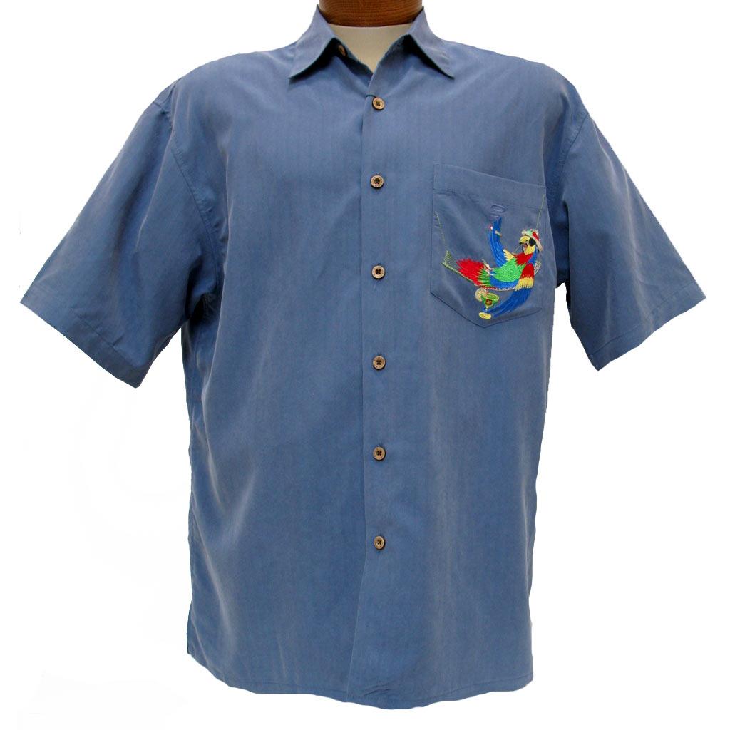 Mens Silk Shirt Long Sleeve