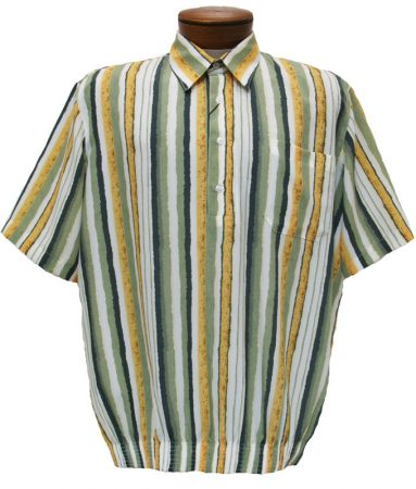 Men's Bassiri Short Sleeve Banded Bottom Shirt 37065