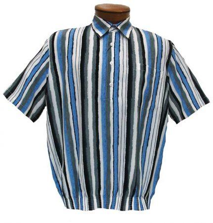 Men's Bassiri Short Sleeve Banded Bottom Shirt #37095