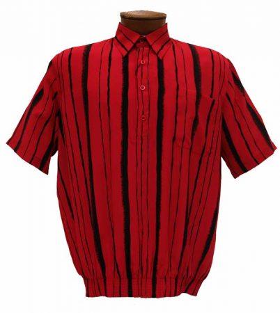 Men's Bassiri Short Sleeve Banded Bottom Shirt #37125