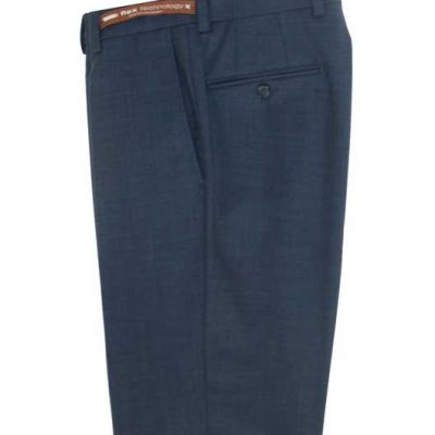 Jack Victor Riviera Traveler Men's Dress Pants BLUE HEATHER R595-20