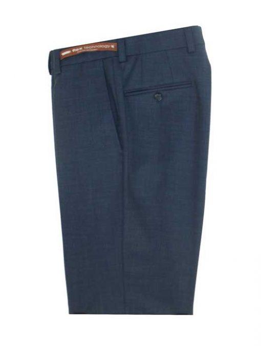 Jack Victor Riviera Traveler Men's Dress Pants BLUE HEATHER R595-20