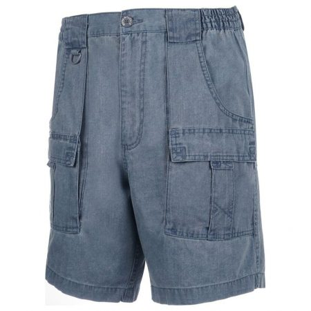 Men's Hook & Tackle® Beer Can Island® Cargo Short #M019910 Marina Blue