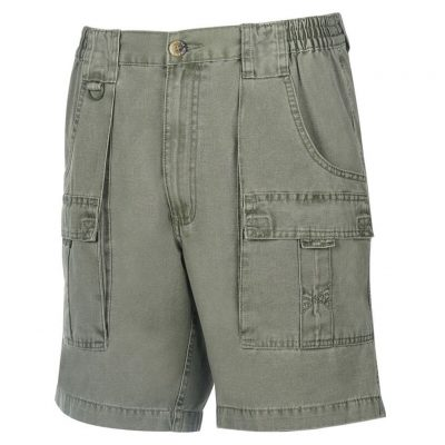 Men's Hook & Tackle® Beer Can Island® Cargo Short #M019910 Olive