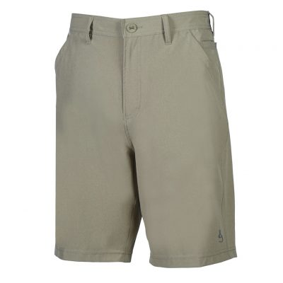 Men's Hook & Tackle® HI-TIDE 4-Way Stretch Short #M019650 Porpoise Khaki