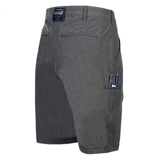 Men's Hook & Tackle® HI-TIDE 4-Way Stretch Short #M019650 Porpoise Grey