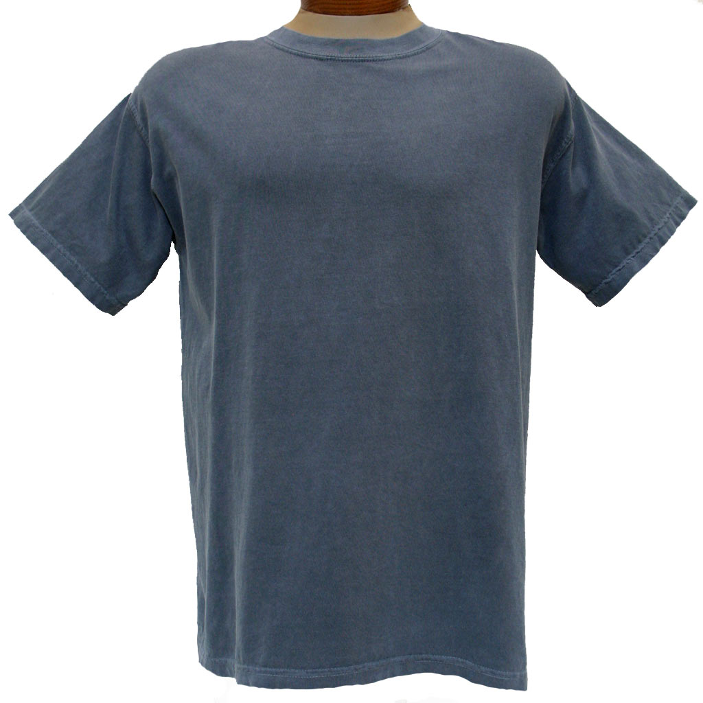 Men's R. Options by Basic Options® Short Sleeve Pigment Dyed Tee, Ink