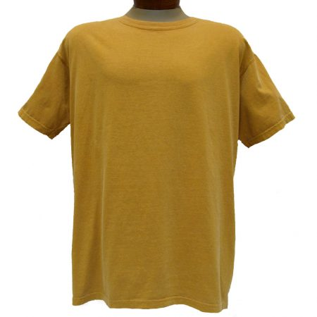 Men's R. Options by Basic Options® Short Sleeve Pigment Dyed Tee, Mustard