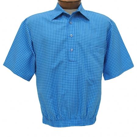 Men 39 S Shirt D 39 Accord Short Sleeve Banded Bottom 6449