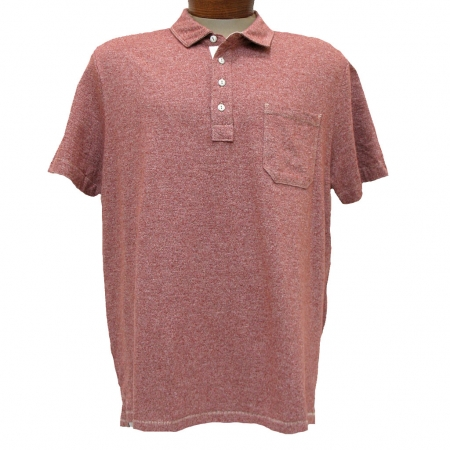 Men 39 s jeremiah short sleeve 100 cotton twist yarn jersey for What stores sell polo shirts